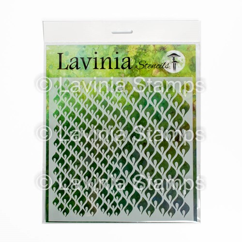 Lavinia Stamps CHARMING Stencil ST024 Preview Image