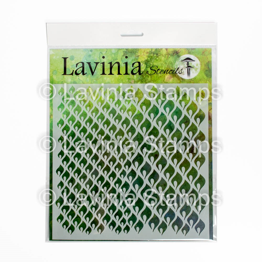 Lavinia Stamps CHARMING Stencil ST024 zoom image