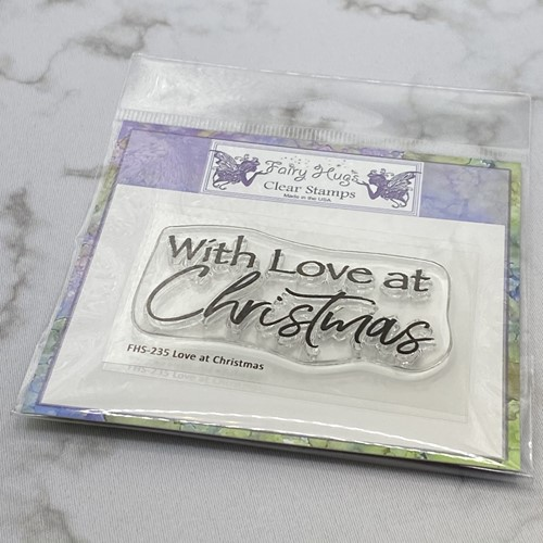 Fairy Hugs LOVE AT CHRISTMAS Clear Stamp FHS-235 Preview Image