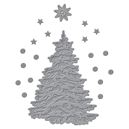 S3-419 Spellbinders O CHRISTMAS TREE Etched Dies Preview Image