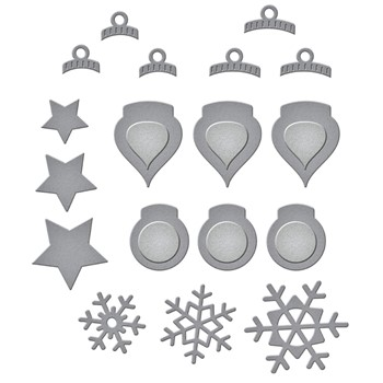S2-317 Spellbinders HOLIDAY DECORATIONS Etched Dies