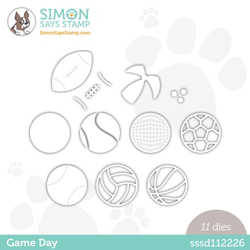 Simon Says Stamp GAME DAY Wafer Dies sssd112226 Make Magic Preview Image