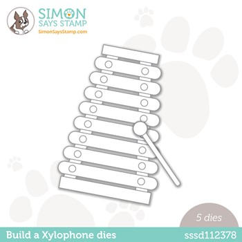 Simon Says Stamp BUILD A XYLOPHONE Wafer Dies sssd112378 Make Magic