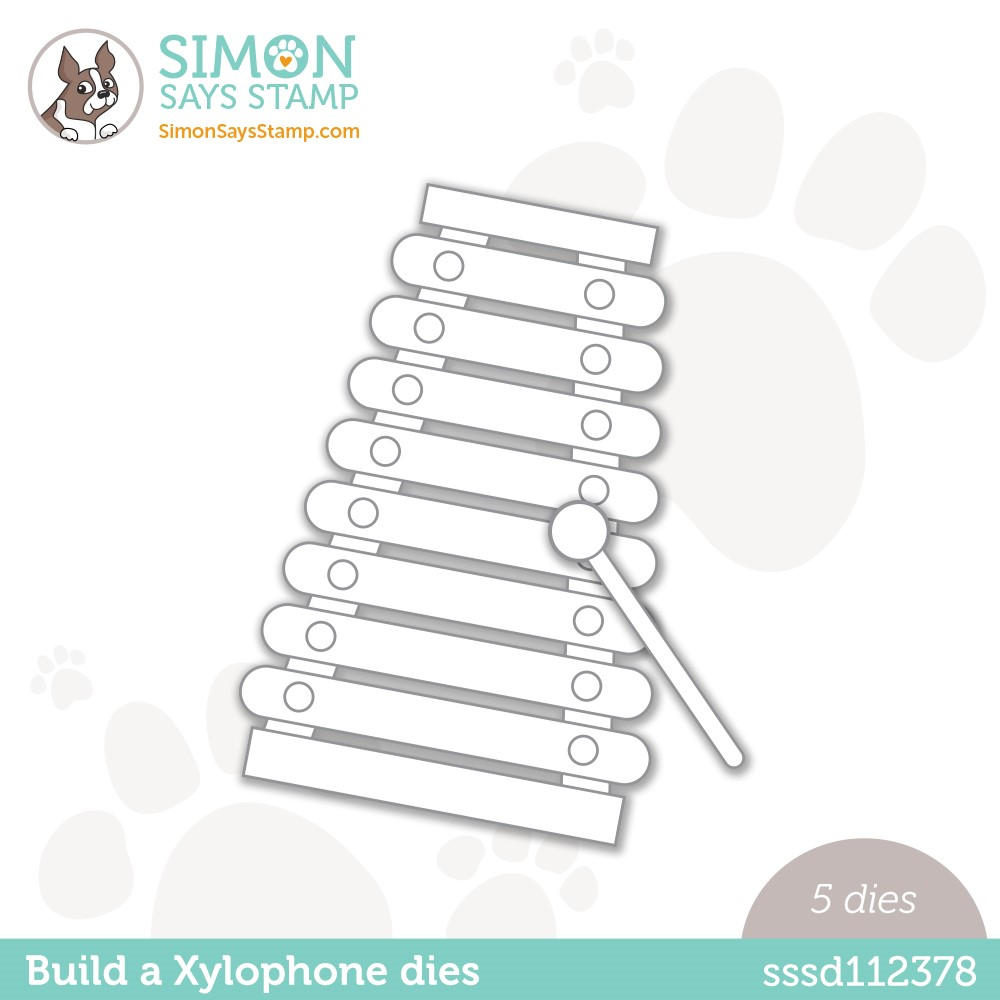 Simon Says Stamp BUILD A XYLOPHONE Wafer Dies sssd112378 Make Magic zoom image