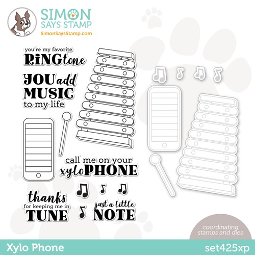 Simon Says Stamps and Dies XYLO PHONE set425xp Make Magic Preview Image