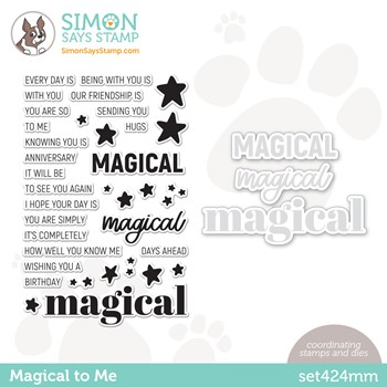 RESERVE Simon Says Stamps and Dies MAGICAL TO ME set424mm Make Magic
