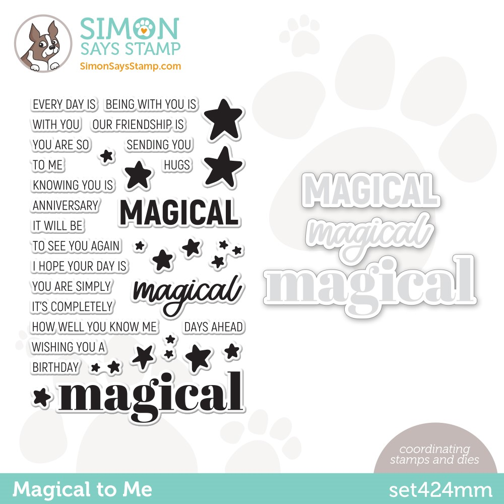 Simon Says Stamps and Dies MAGICAL TO ME set424mm Make Magic zoom image