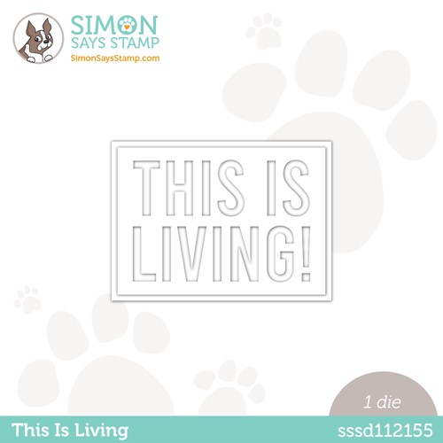 Simon Says Stamp THIS IS LIVING Wafer Die sssd112155 Make Magic * Preview Image