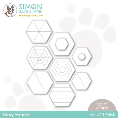 Simon Says Stamp SEXY HEXIES Wafer Dies sssd112366 Make Magic Preview Image