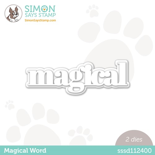 Simon Says Stamp MAGICAL WORD Wafer Dies sssd112400 Make Magic Preview Image