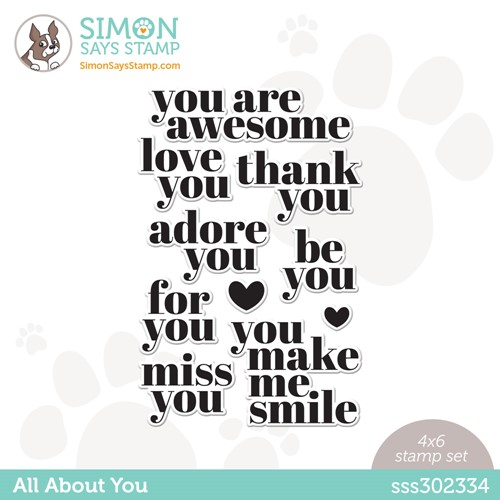 Simon Says Clear Stamps ALL ABOUT YOU sss302334 Make Magic Preview Image