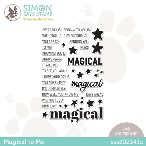 Simon Says Clear Stamps MAGICAL TO ME sss302343c Make Magic Preview Image