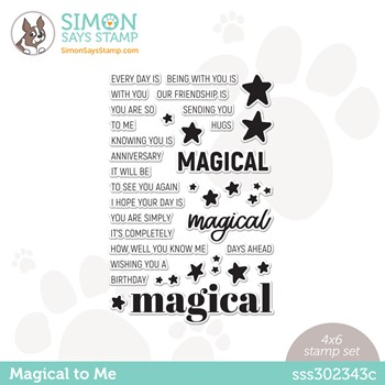 Simon Says Clear Stamps MAGICAL TO ME sss302343c Make Magic