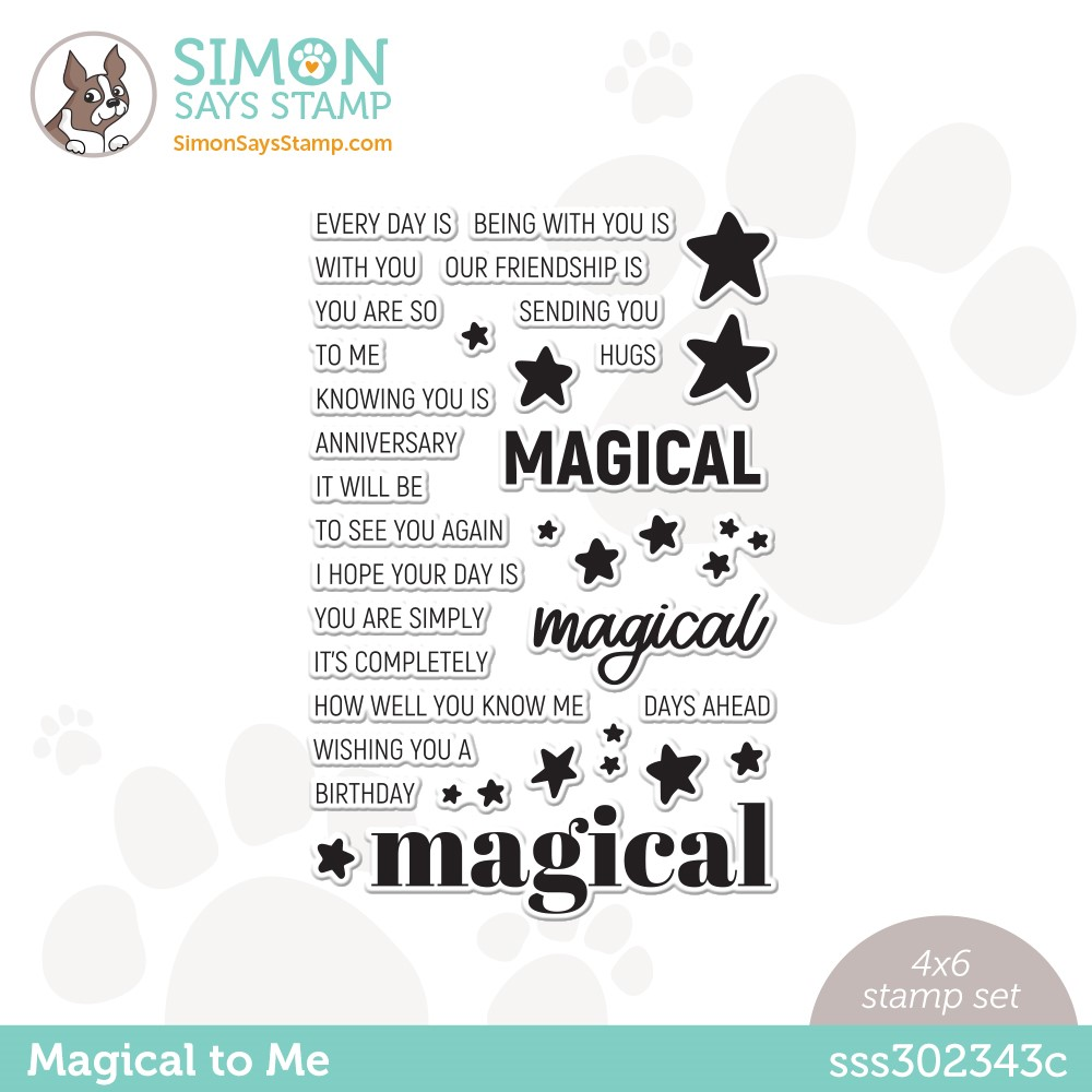 Simon Says Clear Stamps MAGICAL TO ME sss302343c Make Magic zoom image