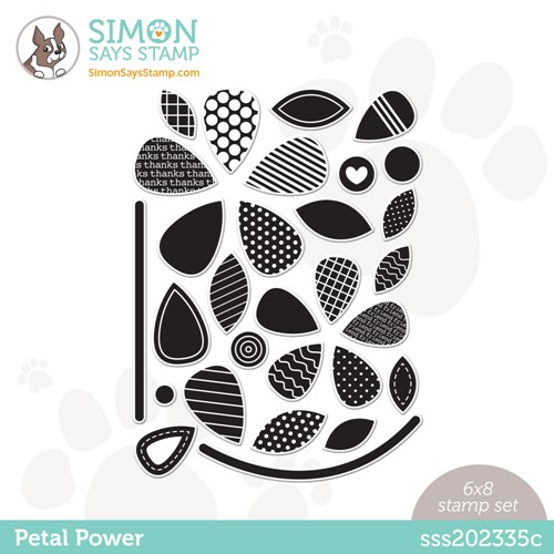 Simon Says Clear Stamps PETAL POWER sss202335c Make Magic Preview Image