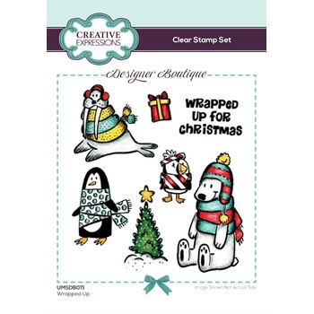 Creative Expressions WRAPPED UP Clear Stamps umsdb071