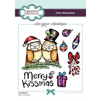 Creative Expressions MERRY KISSMAS Clear Stamps umsdb073