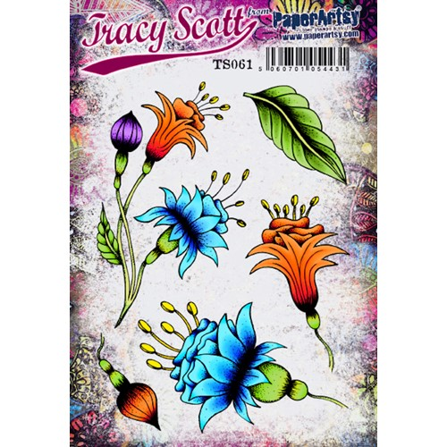 Paper Artsy TRACY SCOTT 061 Cling Stamps ts061 Preview Image
