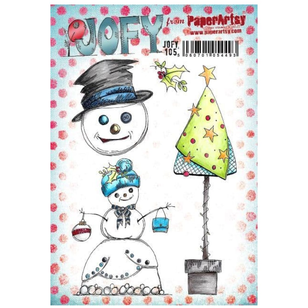 Paper Artsy JOFY 105 Cling Stamps jofy105 zoom image