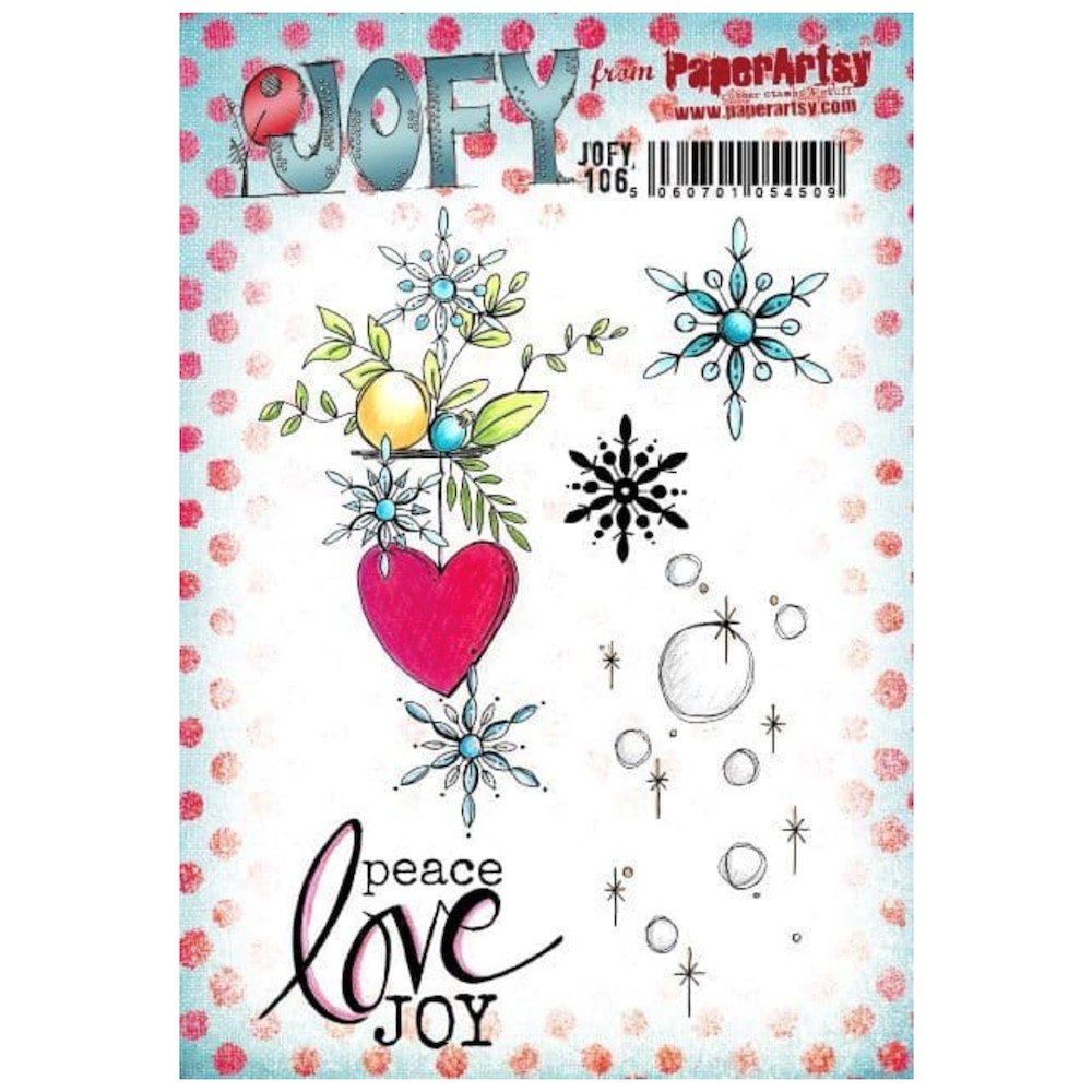 Paper Artsy JOFY 106 Cling Stamps jofy106 zoom image