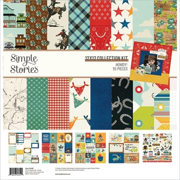 Simple Stories HOWDY 12 x 12 Collection Kit 15400