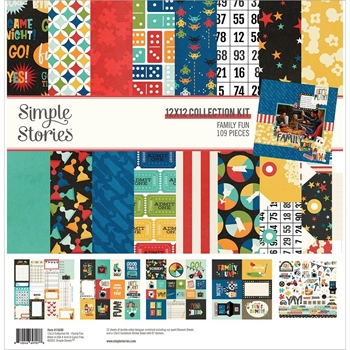 Simple Stories FAMILY FUN 12 x 12 Collection Kit 15600