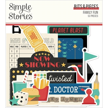 Simple Stories FAMILY FUN Bits And Pieces 15615