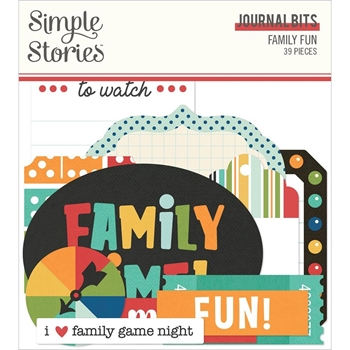 Simple Stories FAMILY FUN Journal Bits And Pieces 15616