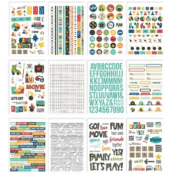 Simple Stories FAMILY FUN Sticker Book 15618