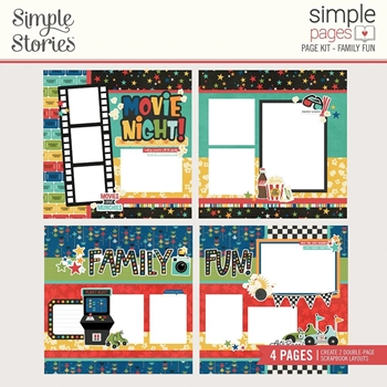 Simple Stories FAMILY FUN Page Kit 15626