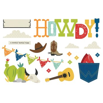 Simple Stories HOWDY Page Pieces 15423