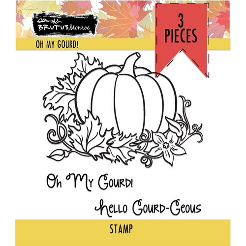 Brutus Monroe OH MY GOURD Clear Stamps bru6530 Preview Image