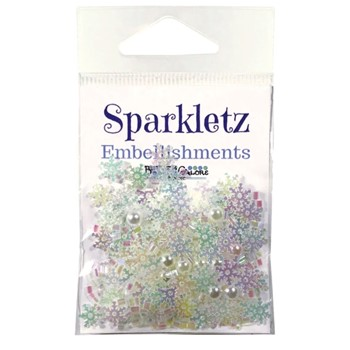 Buttons Galore and More SPRINKLETZ PACKED POWDER Embellishments SPK158