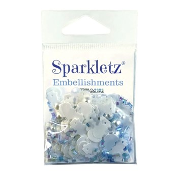 Buttons Galore and More SPRINKLETZ CHILL OUT Embellishments SPK162