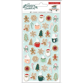 Crate Paper BUSY SIDEWALKS Puffy Stickers 34010600