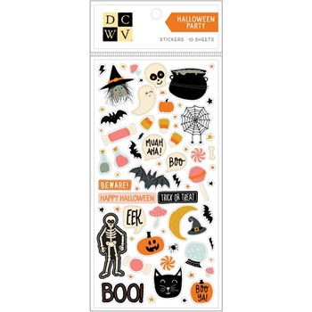 DCWV HALLOWEEN PARTY Sticker Pack 99000999