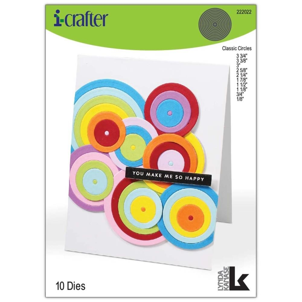 i-Crafter CLASSIC CIRCLES Dies 222022 zoom image