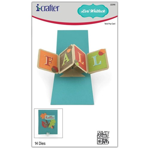 i-Crafter TWIST POP CARD Dies 222195 Preview Image