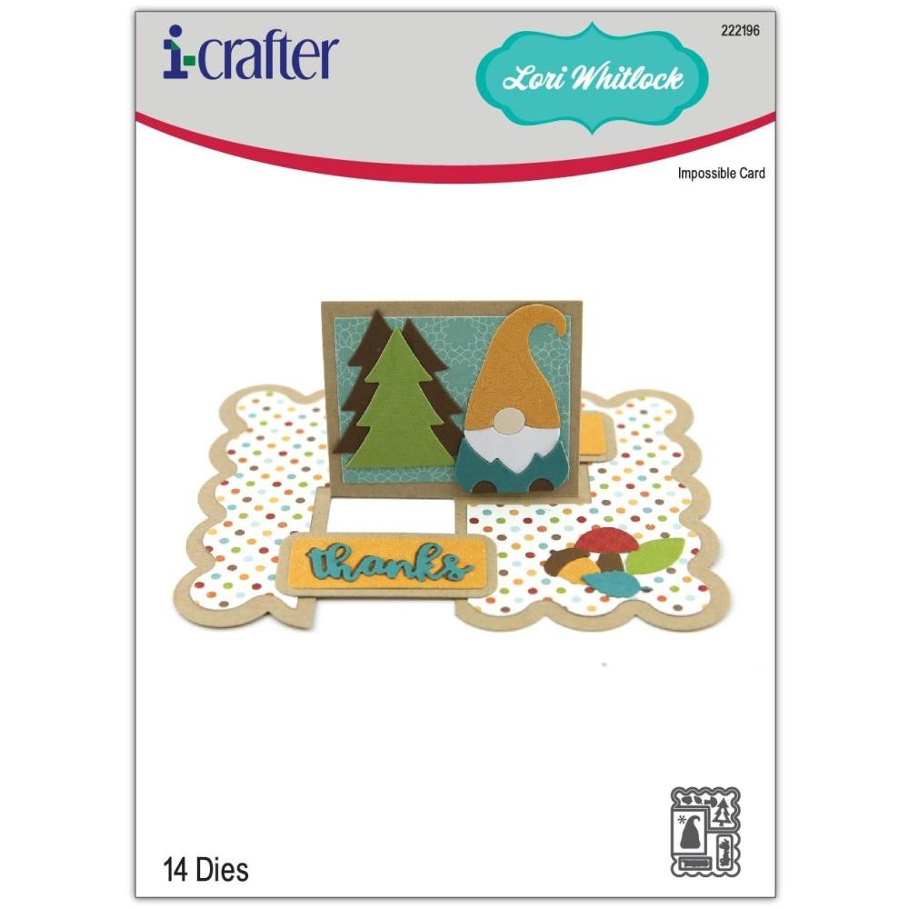 i-Crafter IMPOSSIBLE CARD Dies 222196 zoom image