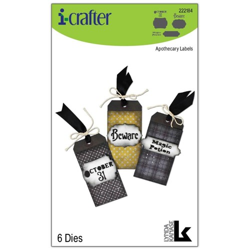 i-Crafter APOTHECARY LABELS Dies 222184 Preview Image
