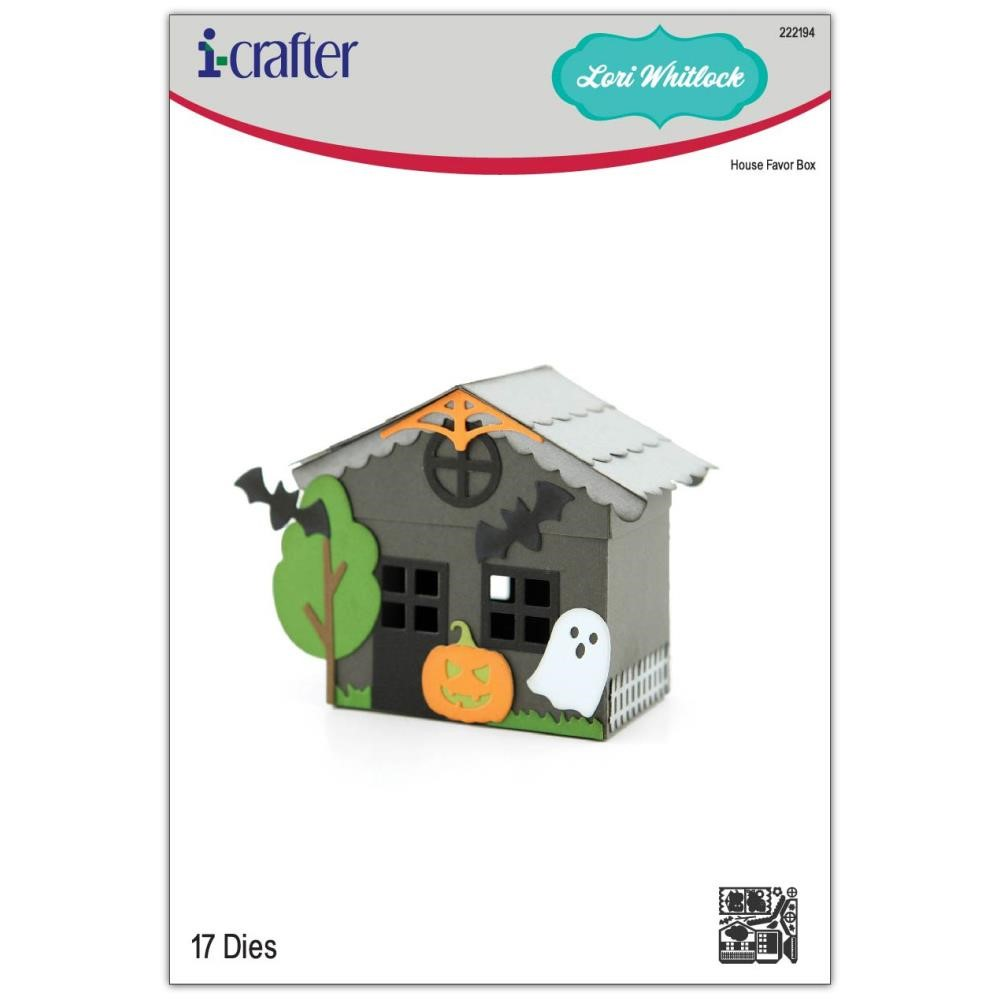 i-Crafter HOUSE FAVOR BOX Dies 222194 zoom image