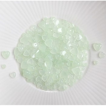 Little Things From Lucy's Cards Droplets WINTERMINT HEARTS LB387