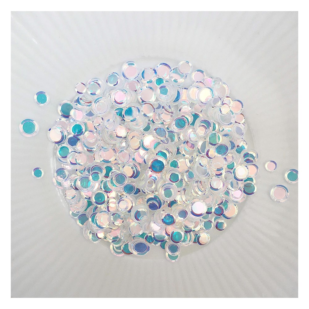 Little Things From Lucy's Cards Sprinkles SHIMMERING CIRCLES LB395 zoom image