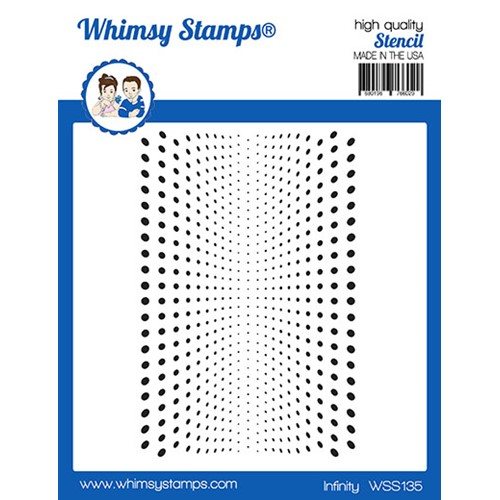 Whimsy Stamps INFINITY Stencil WSS135 Preview Image