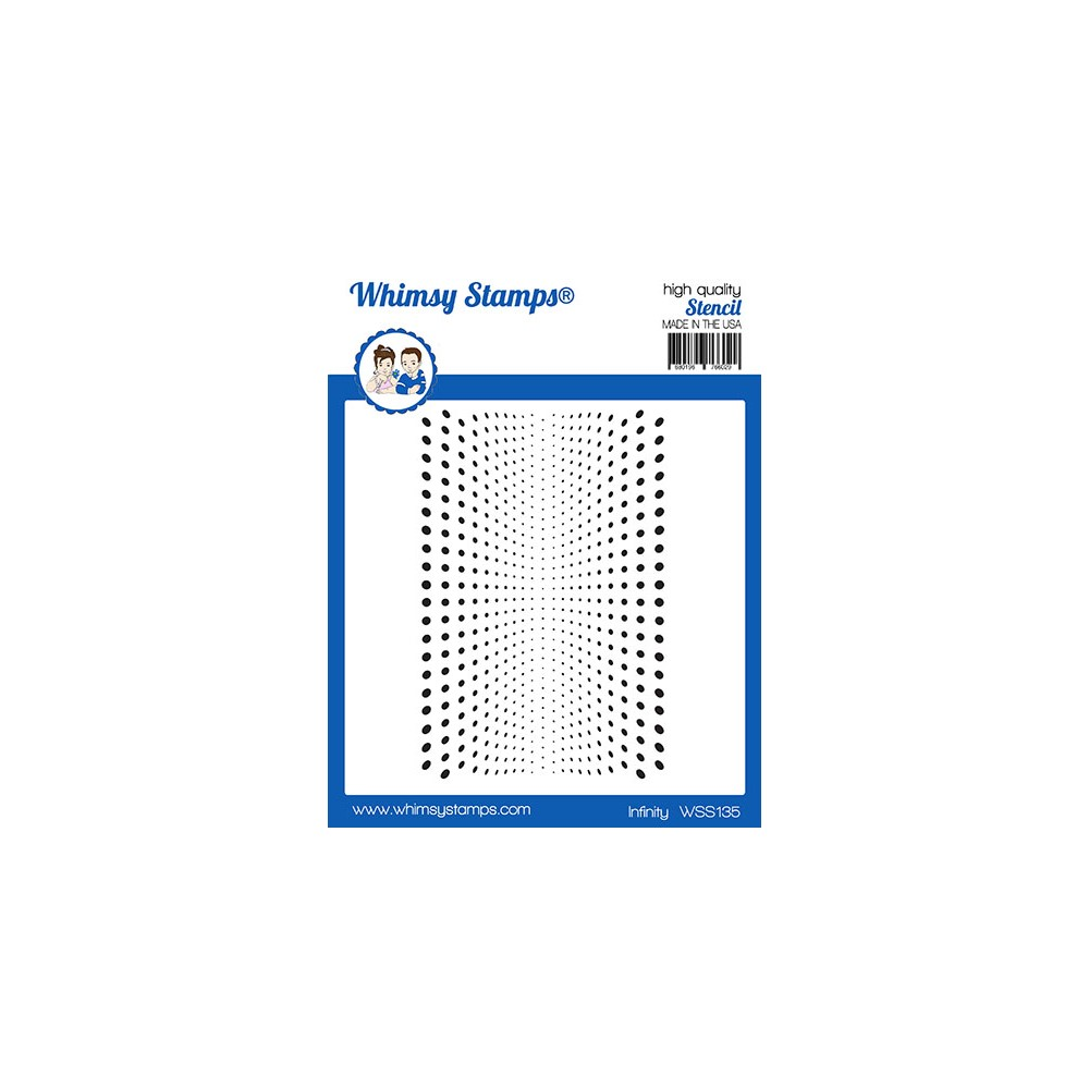 Whimsy Stamps INFINITY Stencil WSS135 zoom image