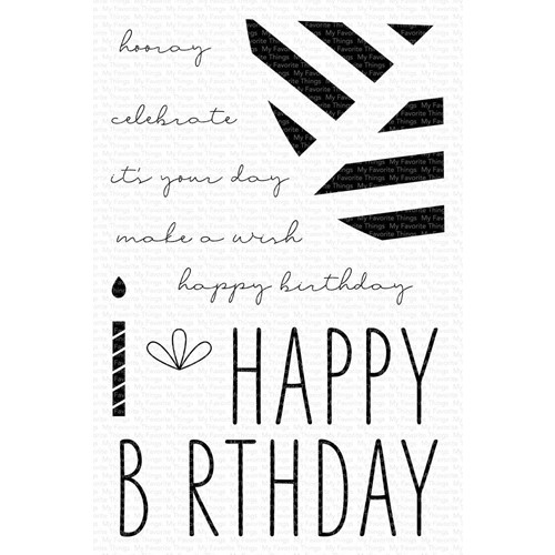 My Favorite Things IT'S YOUR DAY Clear Stamps cs588 Preview Image