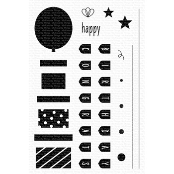 My Favorite Things CELEBRATE YOU Clear Stamps cs585