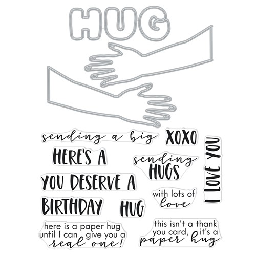 Hero Arts Stamp and Cuts XL PAPER HUG DC289 Preview Image