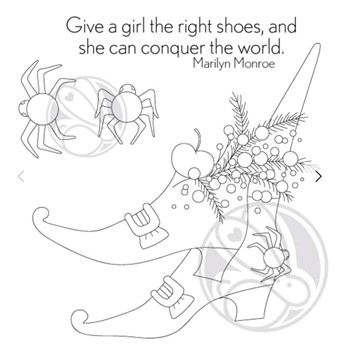 The Rabbit Hole Designs THE RIGHT SHOES Clear Stamps TRH-129