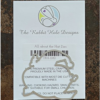 The Rabbit Hole Designs ALL ABOUT THE HAT Dies TRH-128D